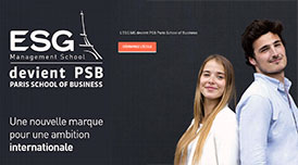 PSB - PARIS SCHOOL OF BUSINESS